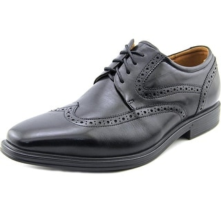 Florsheim Pinnacle Wng Men Round Toe Leather Black Oxford