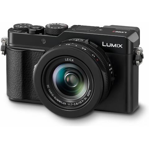 Panasonic LUMIX LX100 II Digital Camera (Black) with 24-75mm Lens