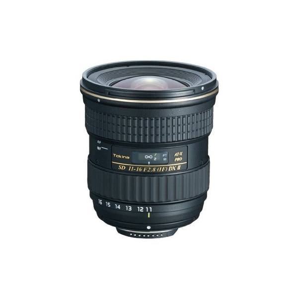 Tokina 11-16mm f/2.8 AT-X 116 PRO DX-II Lens for Nikon F - Black