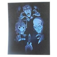 Doctor Who Art Print Card - Multi