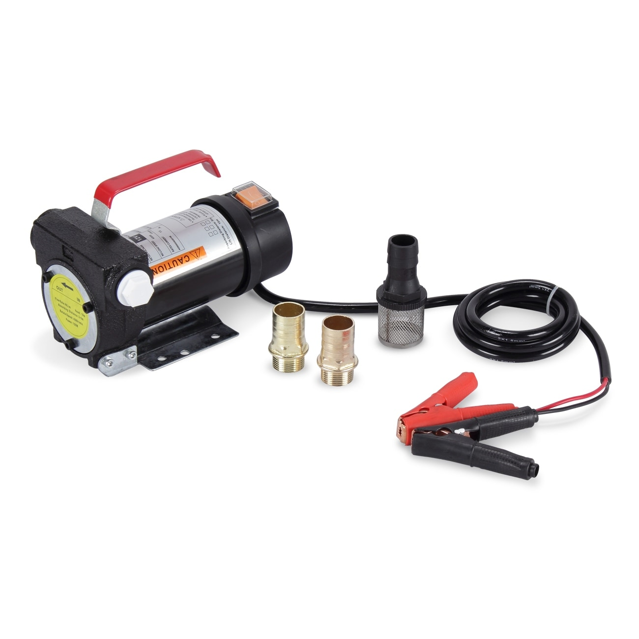 USA DC 12V 10GPM 155W Electric Diesel Oil And Fuel Transfer Extractor Pump Motor