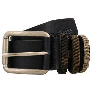 Renato Balestra Y043 BLU Navy Blue Leather Mens Belt