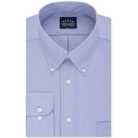 Eagle Mens Non-Iron Button Up Dress Shirt