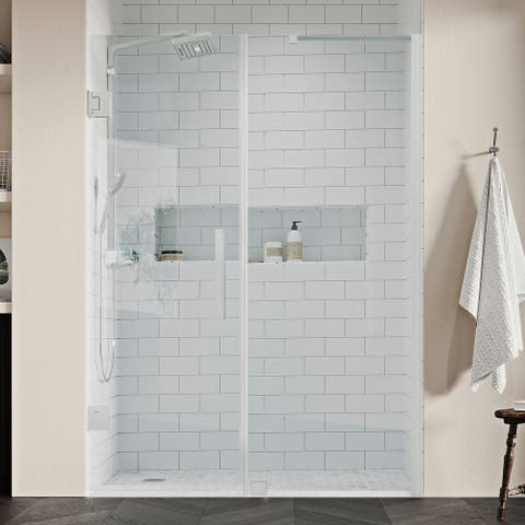 """Endless TP0170200 Tampa-Pro Alcove 55 3/16 to 56 3/8"""" W x 72"""" H SN"""