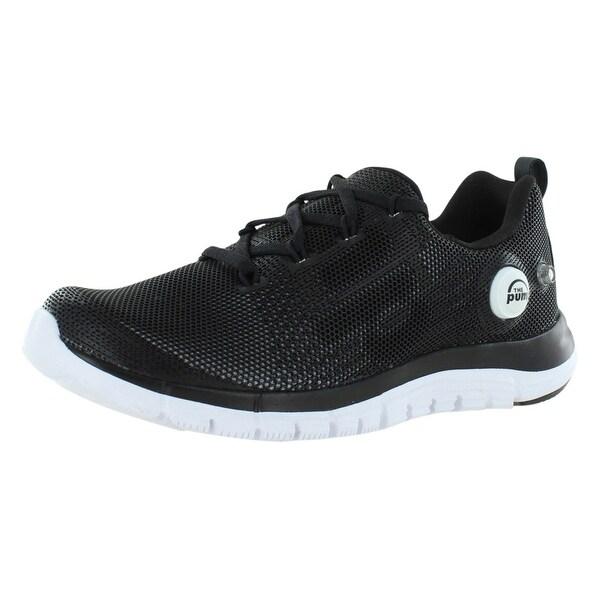 a56d723b86b Shop Reebok Zpump Fusion Pu Running Junior s Shoes - On Sale - Free ...
