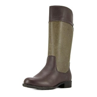 Propet Belmont 2E Round Toe Leather Mid Calf Boot