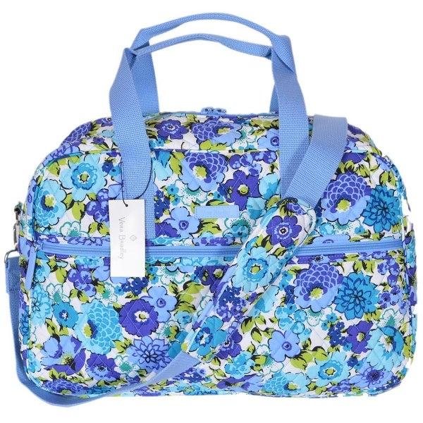 1afb8a17c8c1 Vera Bradley Blueberry Blooms Print Cotton Medium Traveler Weekender Bag -  Multi