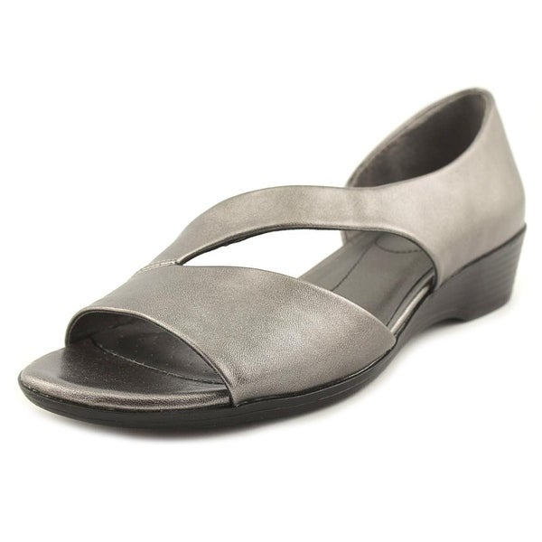 Life Stride Magda Women N/S Open Toe Synthetic Silver Sandals