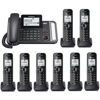 pretty nice d8bfe 65991 Shop Panasonic KX-TG9582B + (6)KX-TGA950B 2 -Line Corded/Cordless ...