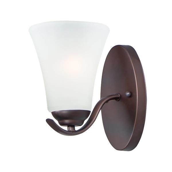 "Vital 1-Light 5.5"" Wide Oil Rubbed Bronze Vanity Light. Opens flyout."