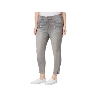 Seven7 Womens Plus Ankle Jeans Denim Mid-Rise (5 options available)