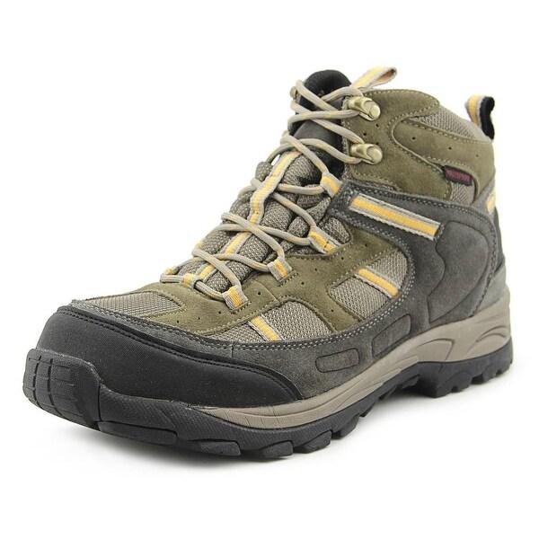 Eddie Bauer Aldrin Men Round Toe Suede Gray Hiking Boot
