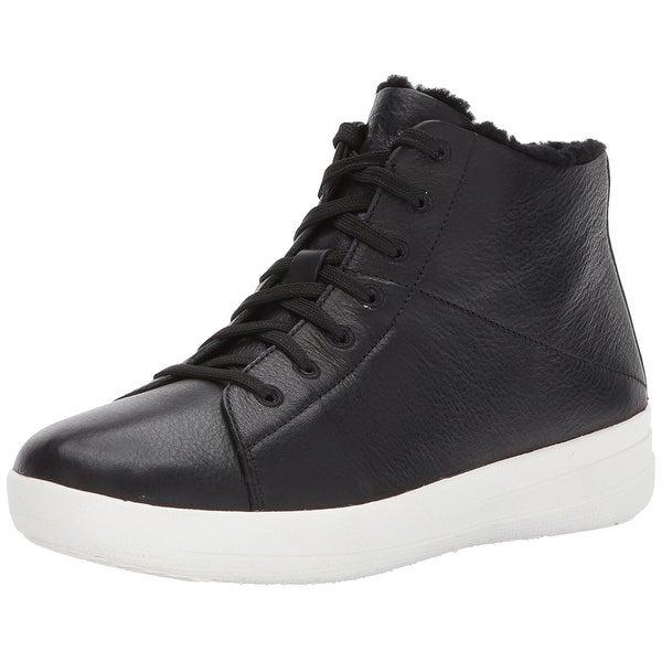 FitFlop Women's F-Sporty Sneakerboots In Leather Sneaker