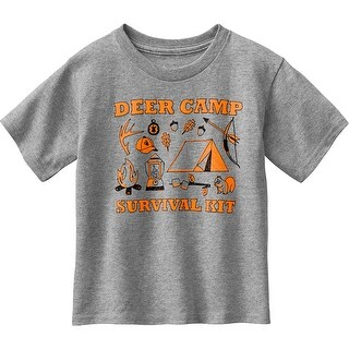 Legendary Whitetails Toddler Spunky Hunter Deer Camp T-Shirt - Athletic Heather (3 options available)