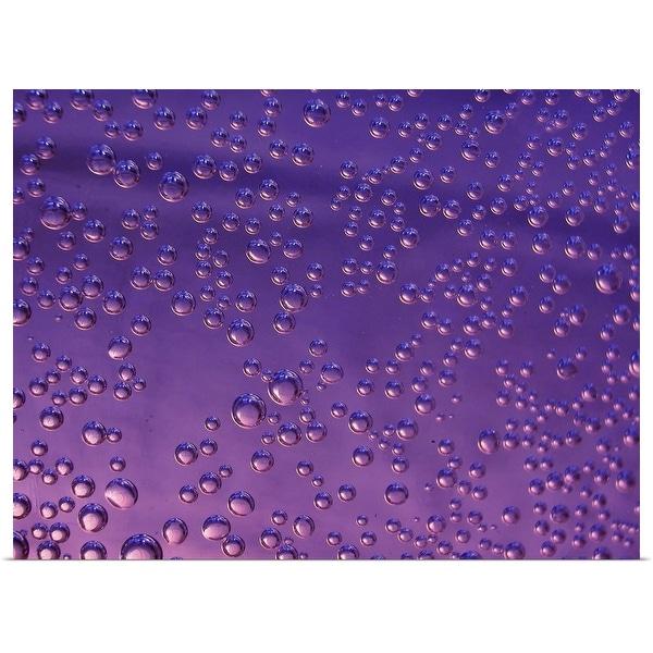 """Water drops"" Poster Print"