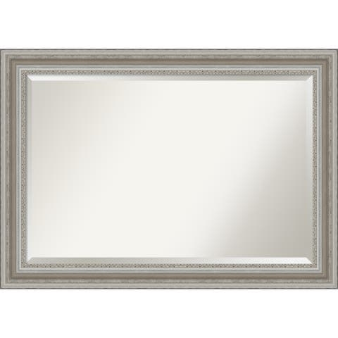 The Gray Barn Parlor Silver Bathroom Vanity Wall Mirror