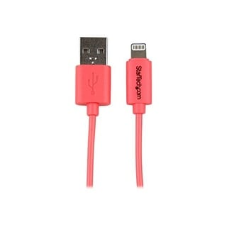 Startech.Com 3-Feet 8-Pin Lightning To Usb Charge Sync Cable For Iphone 5C, Pink (Usblt1mpk)