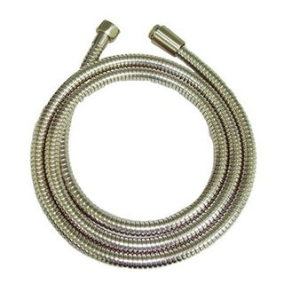 "Proflo PF05289 Metal Spiral Hand Shower Hose (60"" - 82"" Stretchable)"