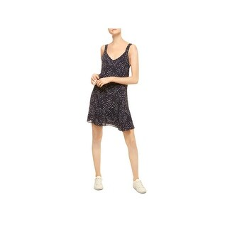 Sanctuary Womens Harlow Casual Dress Printed V-Neck