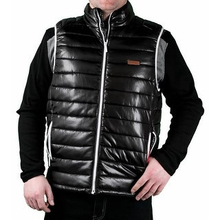 MO7 Men's Poly Filled 'Down-Look' Bubble Vest