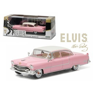 Elvis Presley 1955 Cadillac Fleetwood Series 60 Pink Cadillac (1935-1977) 1/43 Diecast Model Car by Greenlight