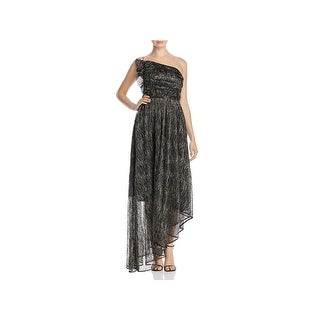 La Maison Talulah Womens Evening Dress Metallic Asymmetrical