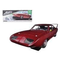 1969 Dom\'s Dodge Charger Daytona Custom from Fast & Furious 6 Movie (2013) 1/18 Diecast Model Car by Greenlight