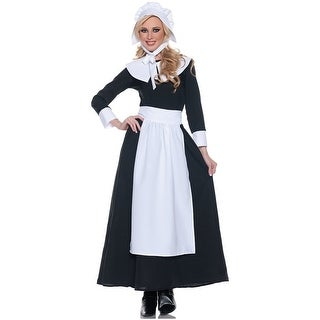 Thanksgiving Pilgrim Woman Costume Adult Large,Medium,Small,X-Large