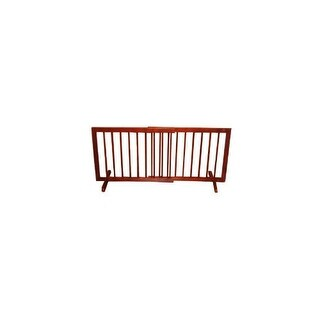 Cardinal SG-1-WA Medium Oak Step Over Gate SG-1-MO
