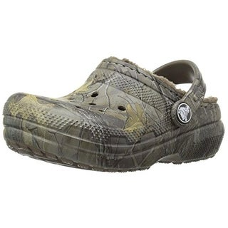 Crocs Boys Classic Realtree Xtra Lined Clogs Camouflage