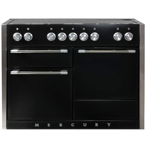 "AGA AMC48IN Mercury Series 48"" Wide 6 Cu. Ft. Slide In Electric Range with Glide Out Broiler System"
