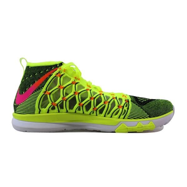 ventajoso Natura Depresión  Shop Nike Men's Train Ultrafast Flyknit Black/Infrared 23-White 843694-999  Size 11.5 - Overstock - 21141566