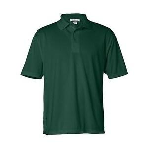 FeatherLite Moisture Free Mesh Sport Shirt - Forest Green - 3XL