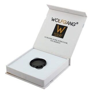 WOLFGANG Authorized 40.5mm Camera Circular Polarizer CPL Lens Filter Protector