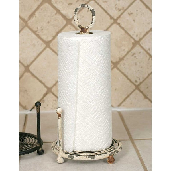 Provincial Paper Towel Holder Antique White Free Shipping On