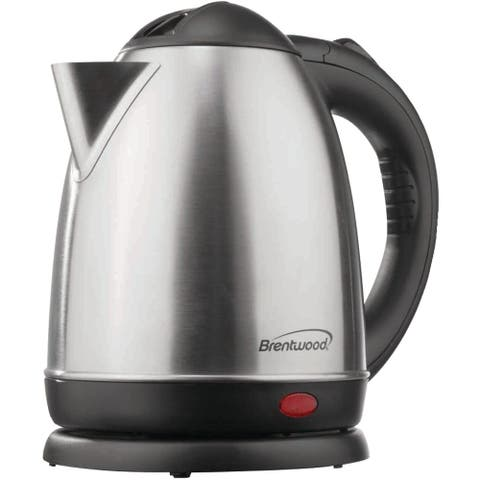 Brentwood KT-1780 1.5L Stainless Steel Cordless Electric Kettle