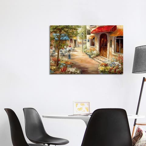 """iCanvas """"Cafe Afternoon III"""" by Nan Canvas Print"""