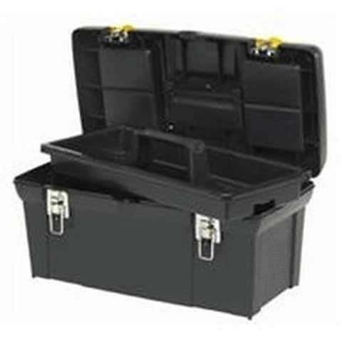 """Stanley Tool 024013S Series 2000 Toolbox With Tray, 11"""" x 24"""" x 11"""""""