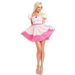 Perilous Princess Costume, Sexy Pink Princess Costume