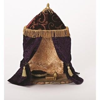 "Fontanini 7.5"" Religious Christmas Nativity King's Tent Village Decoration #54838"