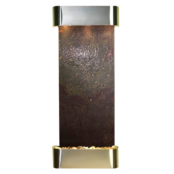 Adagio Inspiration Falls Fountain - Round - Stainless Steel - Choose Options