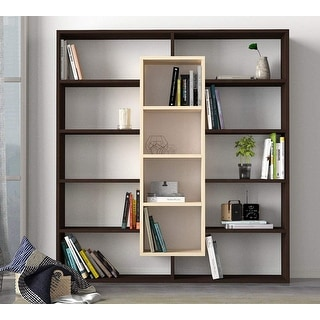 Link to Ample Bookcase Beige-Brown Similar Items in Bookshelves