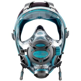 Ocean Reef Neptune Space G Full Face Mask Emerald