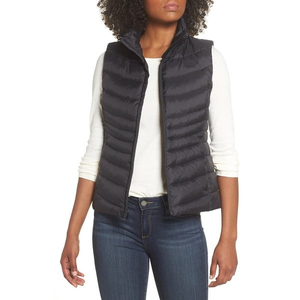 91f2d4d0d Shop The North Face Black Womens Size Small S Full Zip Vest Jacket ...