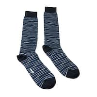 Missoni GM00CMU5231 0004 Blue/White Knee Length Socks - M