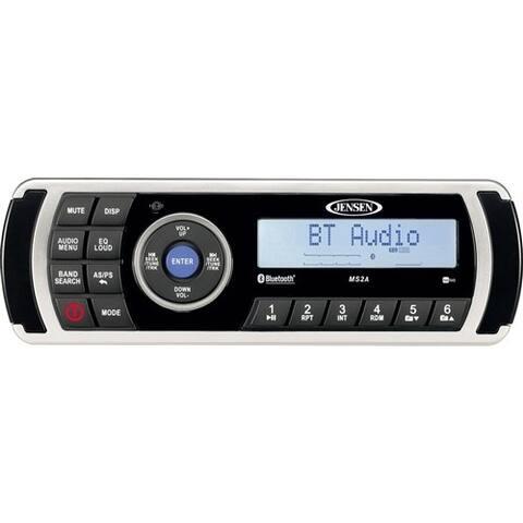Jensen AM / FM / USB / iPod / BT / APP Ready Waterproof Stereo Waterproof Stereo