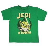 Mad Engine Star Wars Little Boys Yoda Jedi In Training T-Shirt