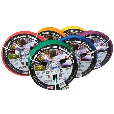 Dramm 10-17100 Colorstorm Heavy Duty Garden Hose, Assorted - Single