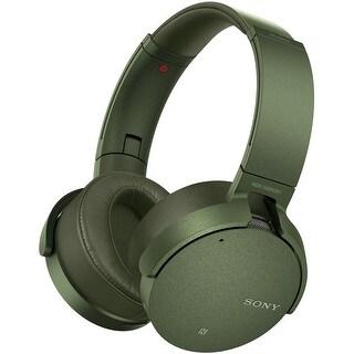 Sony XB950N1 EXTRA BASS Noise-Canceling Bluetooth Headphones (Green)