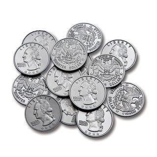 Plastic Coins 100 Quarters